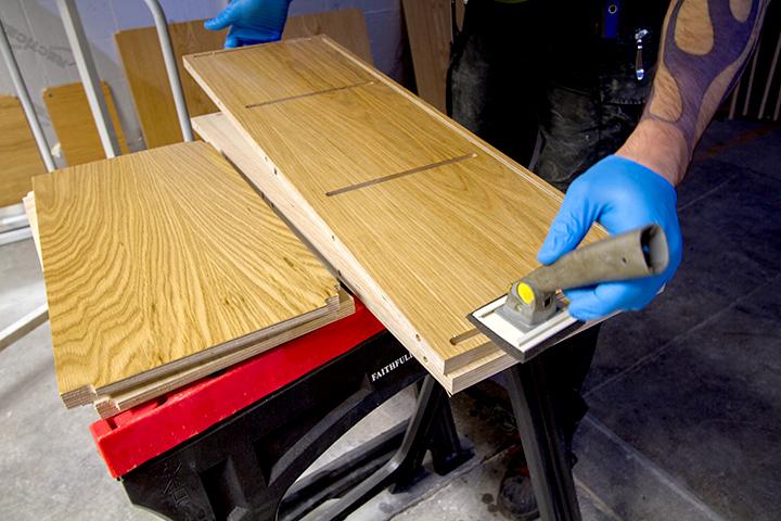nano-coat cabinet components