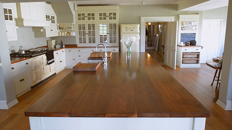 what are the benefits of a wooden kitchen worktop naked kitchens