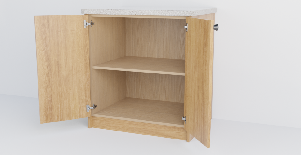 Double Slab Cabinet