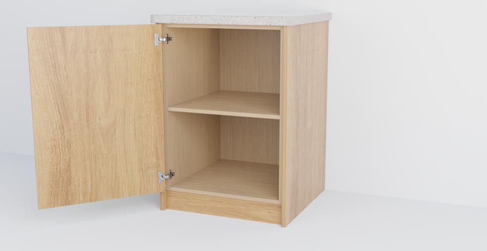 Single Slab Cabinet