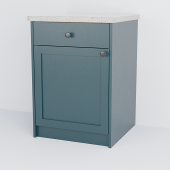 Single Shaker Cabinet With Drawer