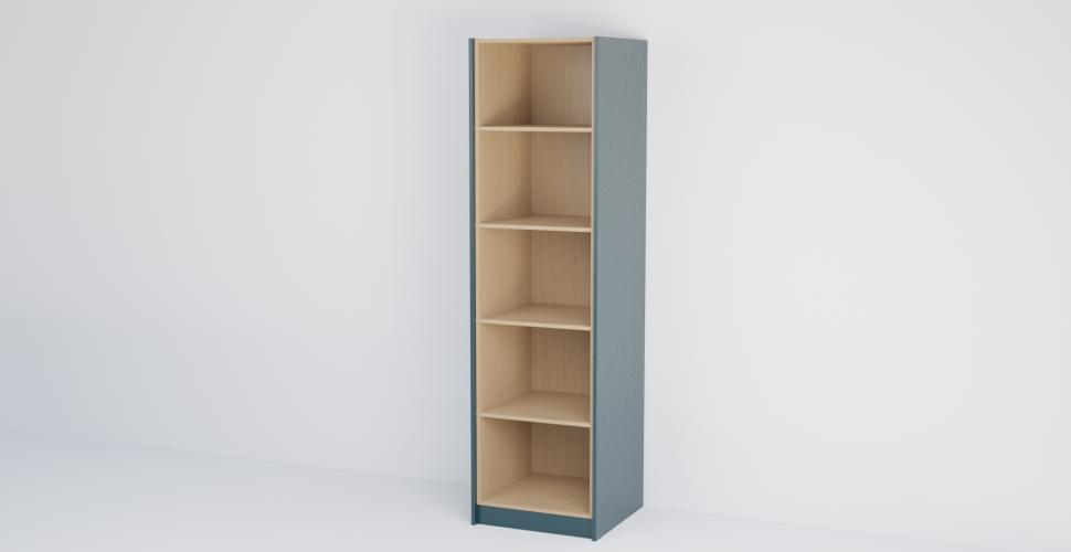Single Open Shelf Tall Cabinet