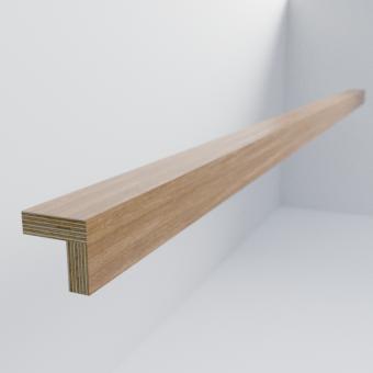 Oak Scandi Angled Pelmet