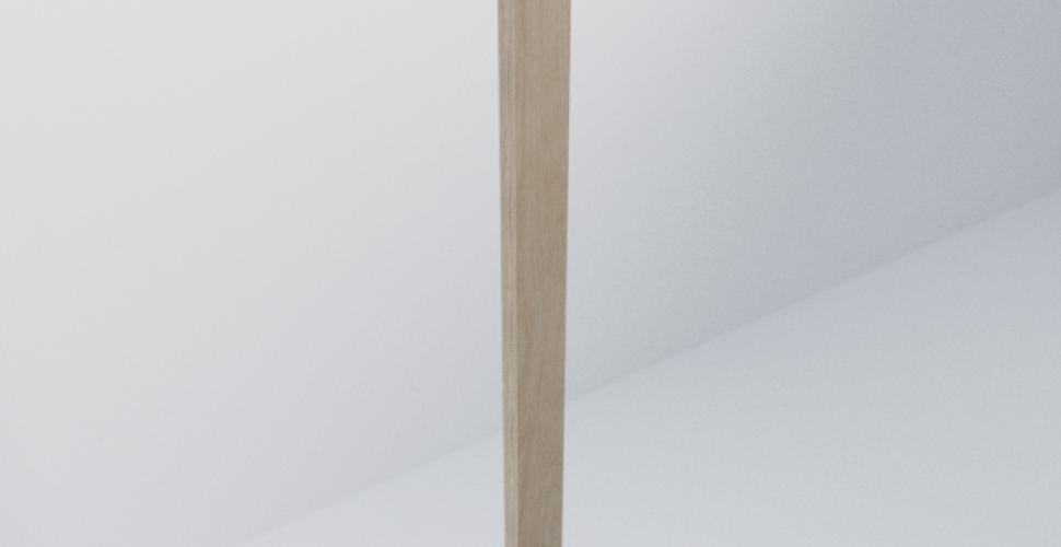 Birch Ply Scandi Filler Piece