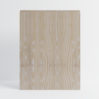 Brushed Limed Grain Oak Scandi J-Groove Front