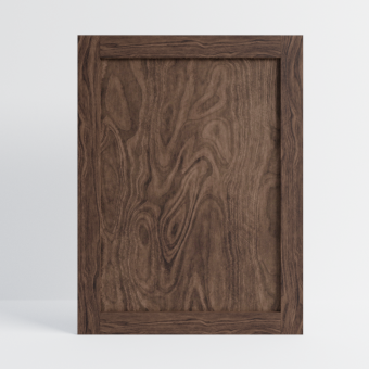 Solid Walnut Shaker Front