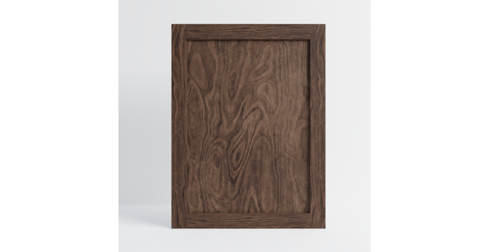 Walnut Shaker End Panel