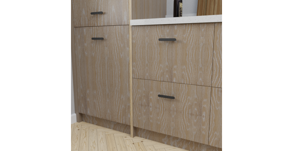 Brushed Limed Grain Oak Scandi Front