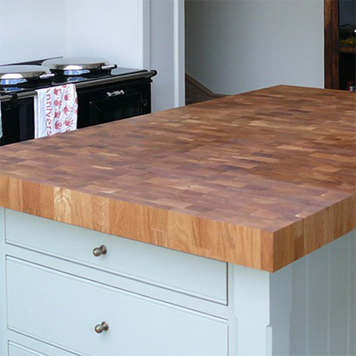 end grain wood worktops