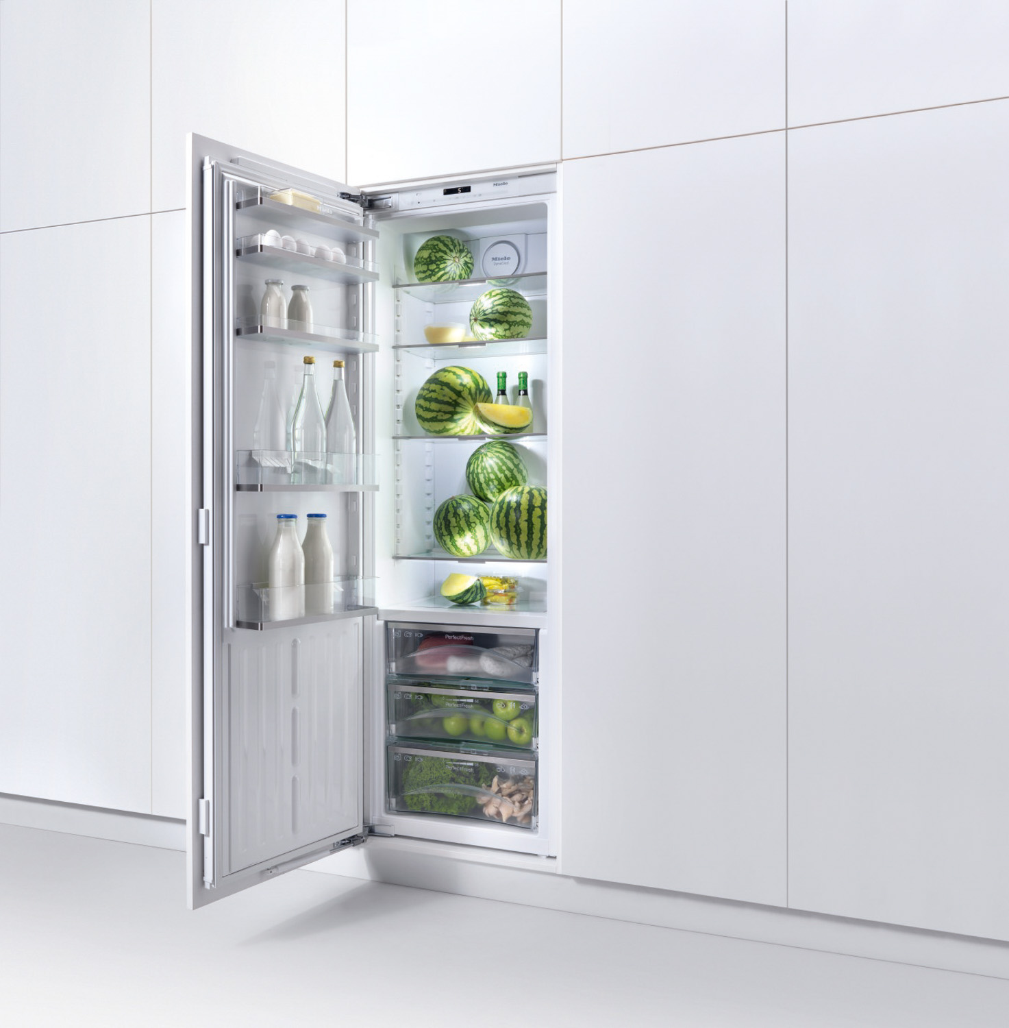 miele built in refrigerator