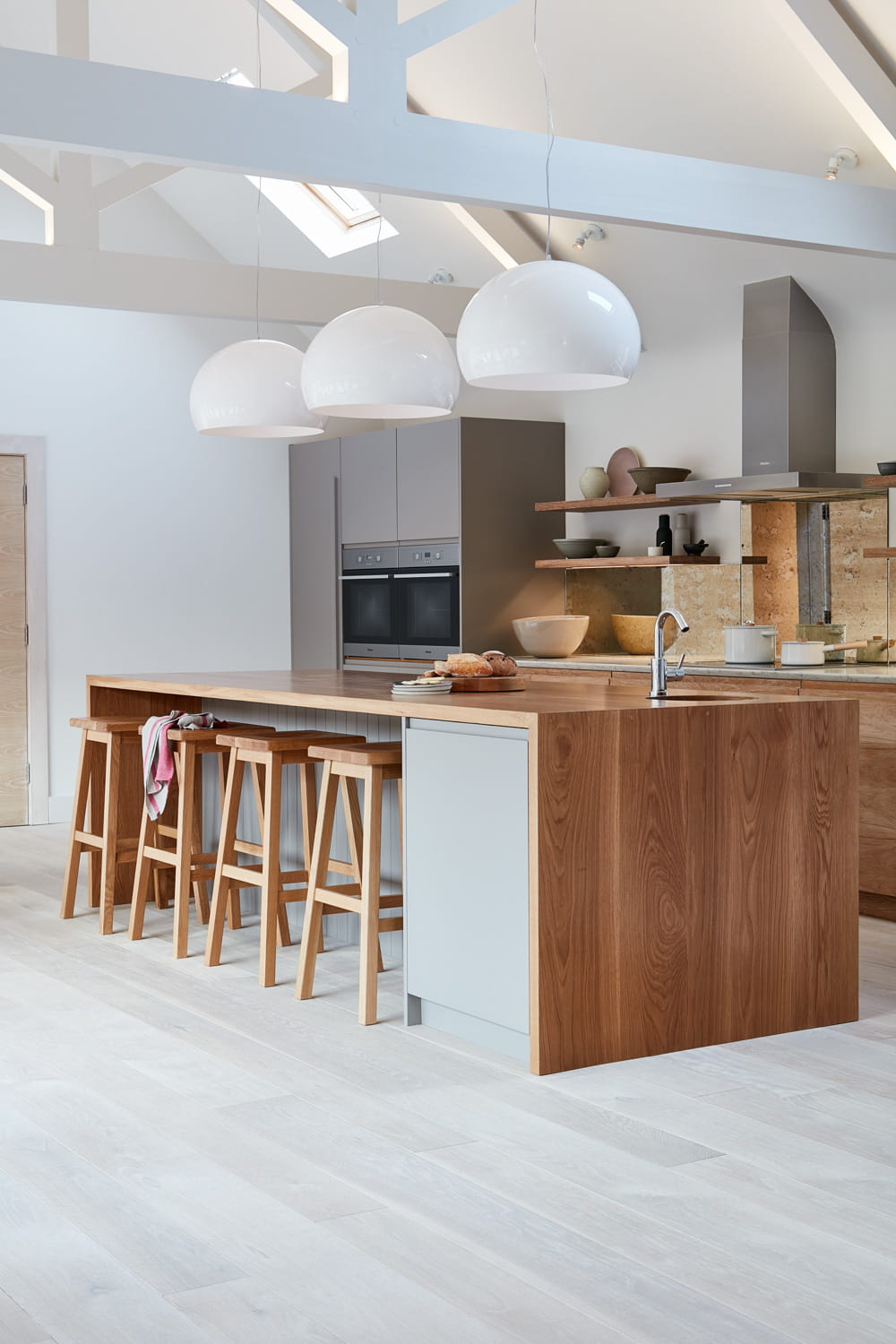 brancaster marshes frameless kitchen